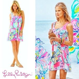 Lilly Pulitzer Carmel Swept By The Tides Dress XS